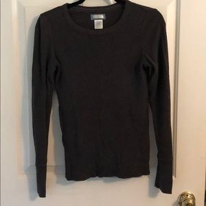 Arie grey long sleeve shirt